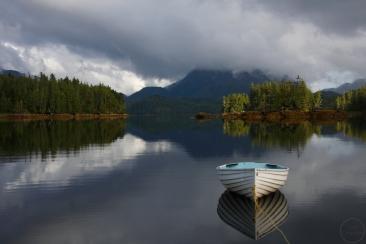 June, Spring, island, Inside Passage, temperate rainforest, Great Bear Rainforest, British Columbia, Canada