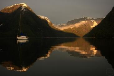 June, Spring, Inside Passage, Coast Mountains, Fjordland Recreation Area, temperate rainforest, Great Bear Rainforest, British Columbia, Canada