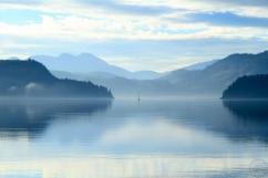 Wellbore Channel, September, Summer, temperate rainforest, British Columbia, Canada